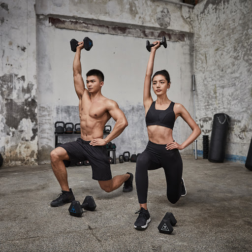 Body sculpt: strength training with dumbbells